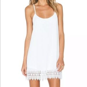 Show Me Your Mumu White  Reville White Dress XS